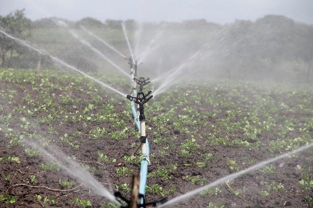 Irrigazione a goccia, Tubazioni, Irrigazione per aspersione per l'Agricoltura e Residenziale